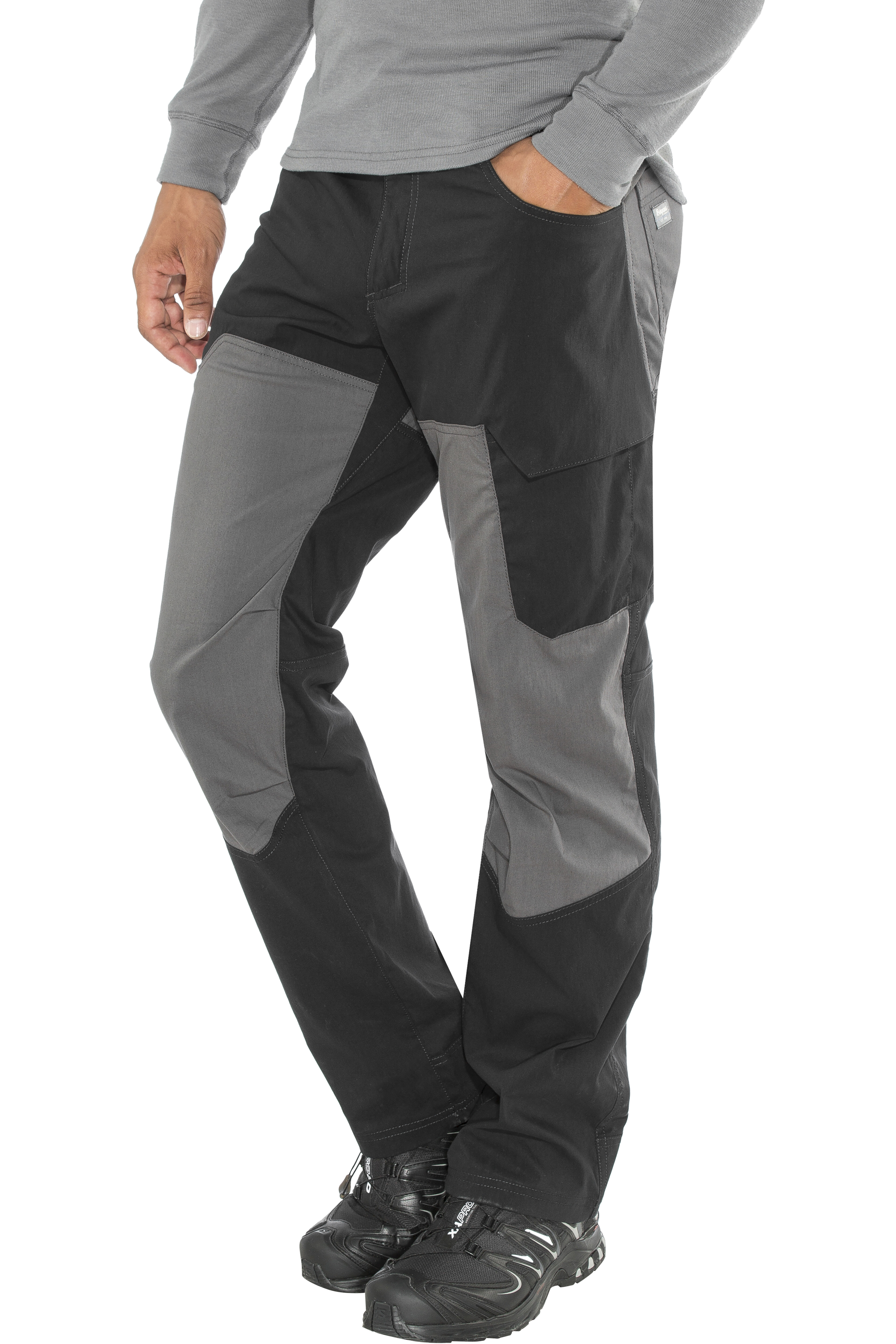 2564ad37 Bergans Fongen Pants Men black/graphite | Gode tilbud hos addnature.no